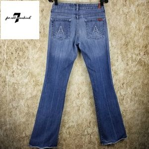7 for all Mankind A Pocket Low Rise Bootcut (29)